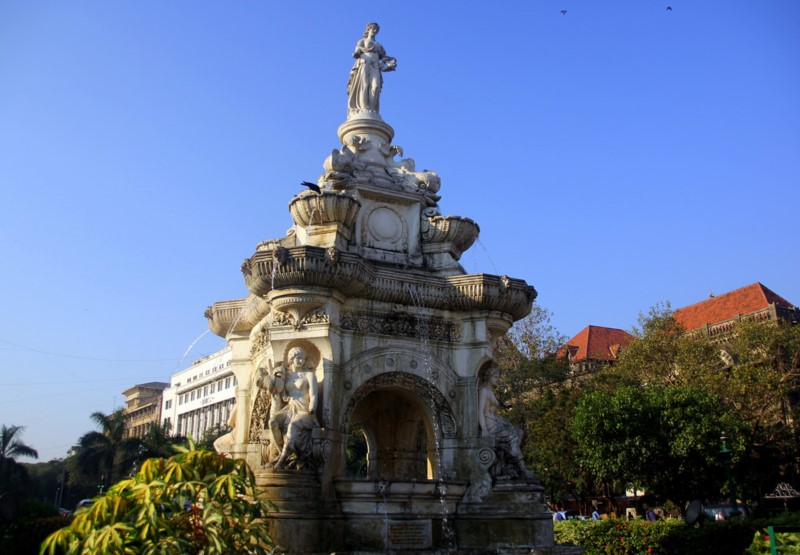 Colonial Architecture in Mumbai - Flora Fountain