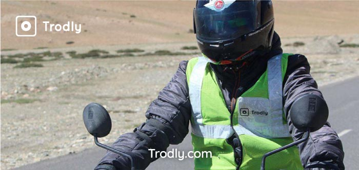 Trodly reflector jackets