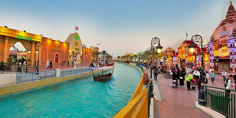 Best Theme Parks in UAE - Dubai Global Village