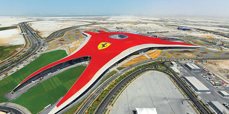 Best Theme Parks in UAE - Ferrari World