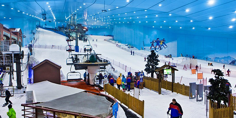 Best Theme Parks in UAE - Ski Dubai