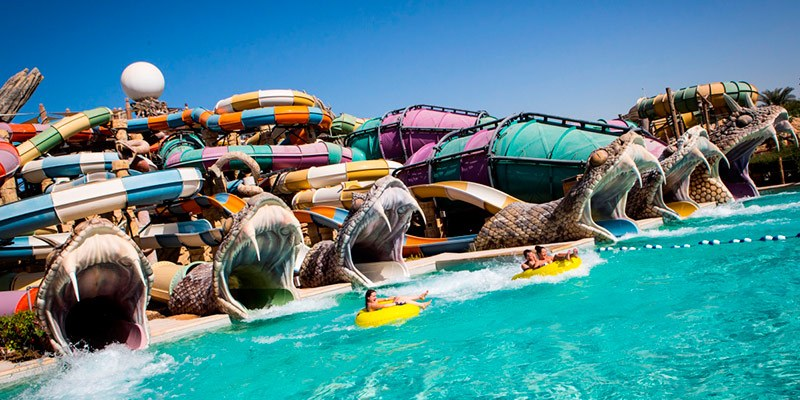 Best Theme Parks in UAE - Yas Water World
