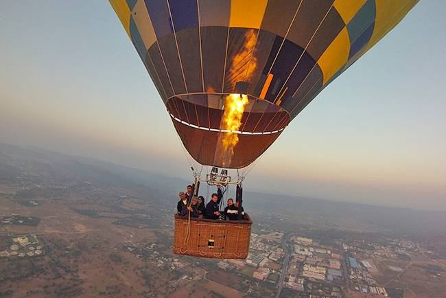 Adventures in India: Hot air ballooning Rajasthan