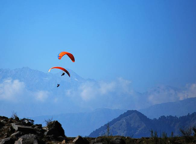 Adventures in India: Paragliding in Himachal