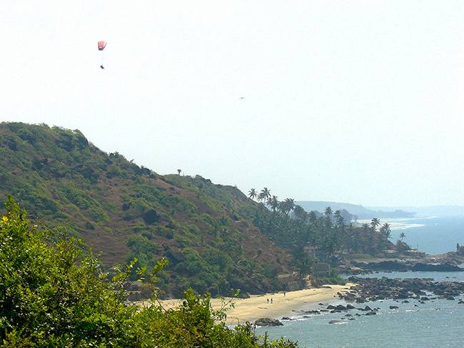 Adventures in India: Paragliding in Goa