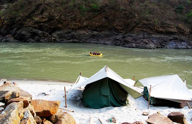 Adventures in India: Rafting in Rishikesh