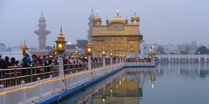 Amritsar and not Taj Mahal, Agra