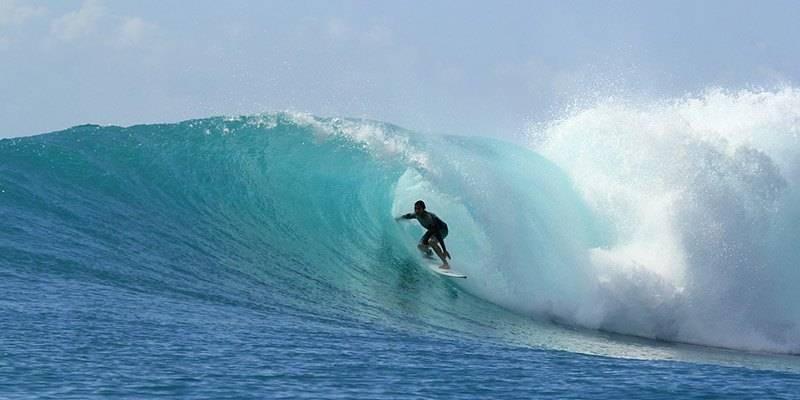 Water Sports in Andaman Islands - Surfing Hutbay