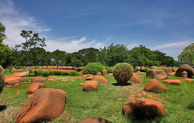 Auroville: Things to Know About the Spiritual Retreat - Auroville's central Park