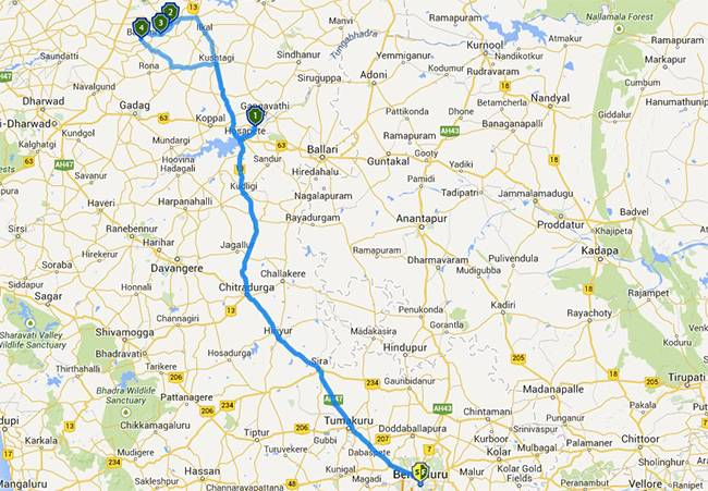 Best Road Trips from Bangalore: Badami Aihole Pattadaka Hampi