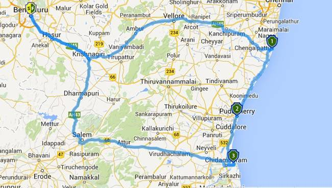 Best Road Trips from Bangalore: Mahabalipuram Pondicherry Pichavaram