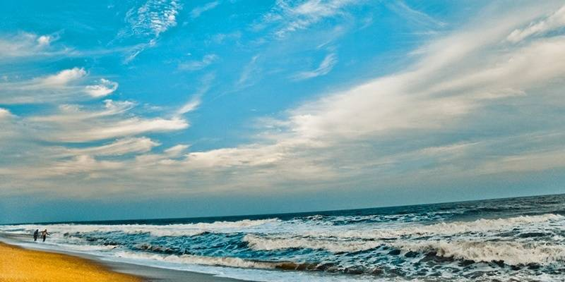 Best Beaches of Pondicherry - Auro Beach