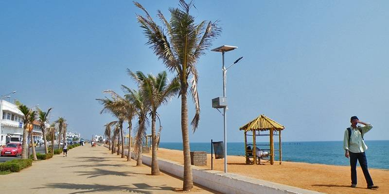 Best Beaches of Pondicherry - Promenade Beach