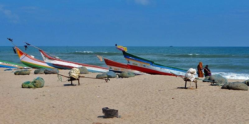 Best Beaches of Pondicherry - Veerampattinam Beach