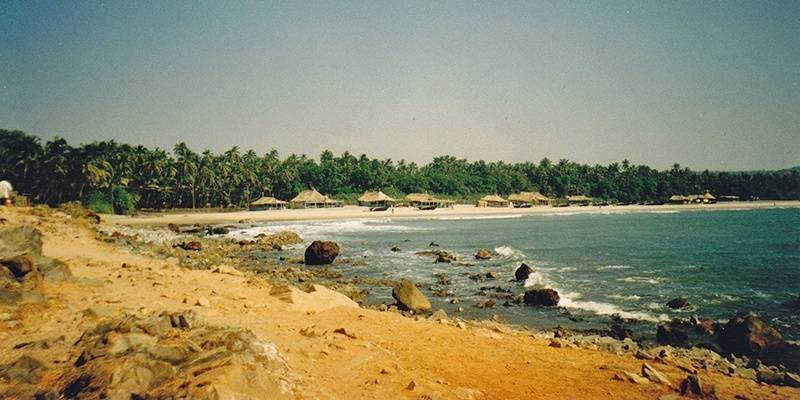 Arambol Beach - best beaches of Goa