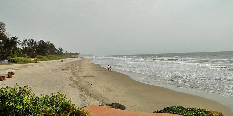Ashwem Beach - best beaches of Goa