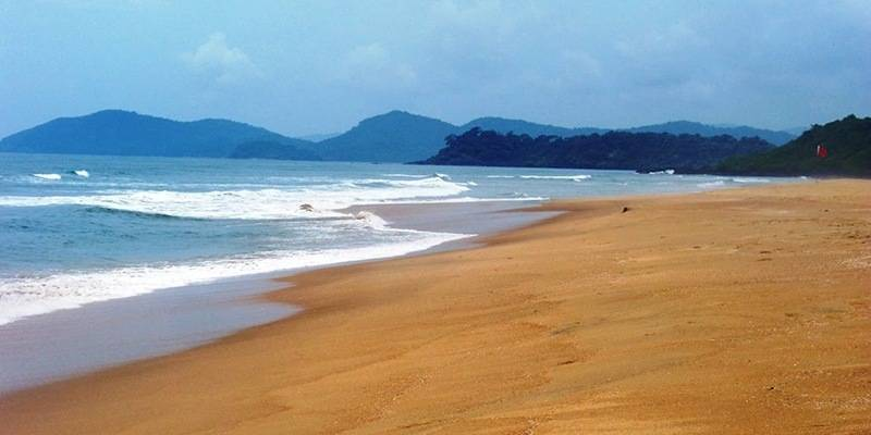 Galgibaga Beach - best beaches of Goa