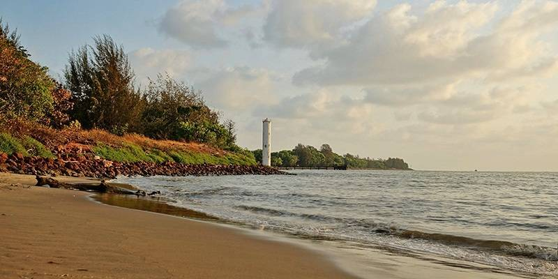 Miramar Beach - best beaches of Goa
