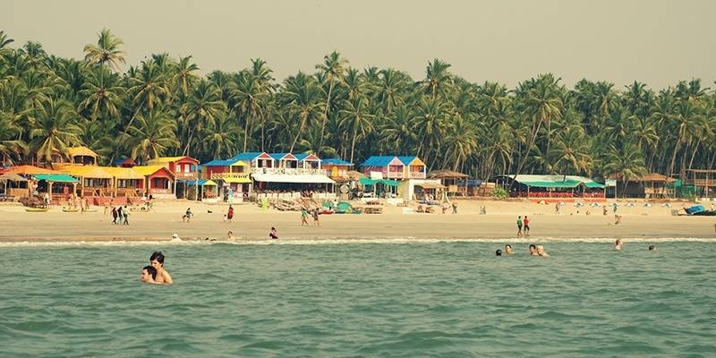 Palolem Beach - best beaches of Goa