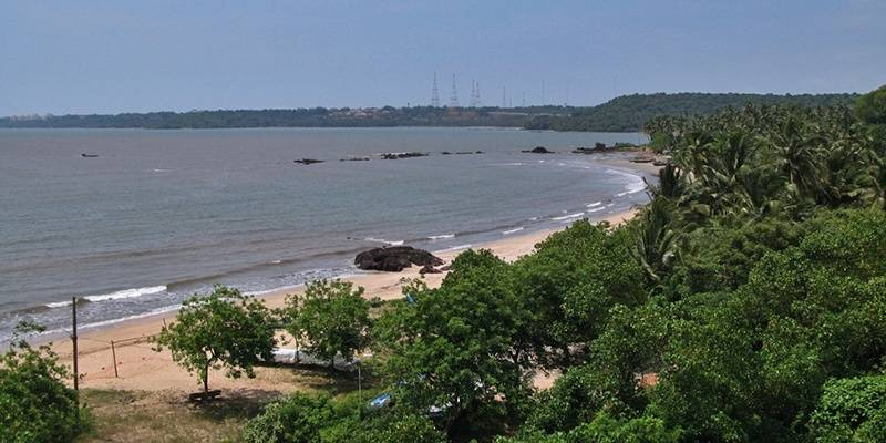Siridao Beach - best beaches of Goa