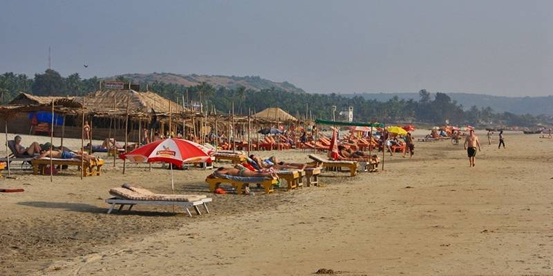 Mandrem Beach - best beaches of Goa