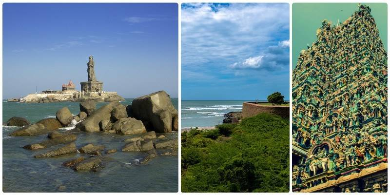Road Trips from Chennai - Channai - Madurai- Kanyakumari