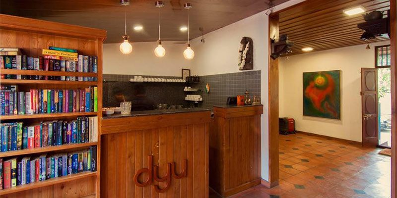 Cool Bangalore Restaurants - DYU Art Cafe