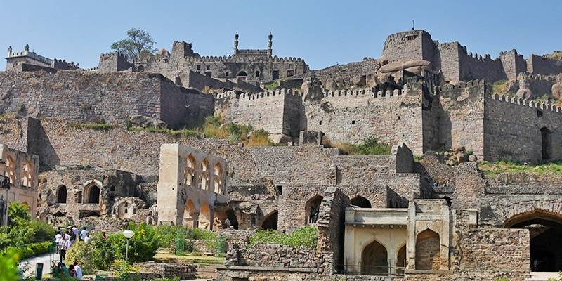 Golconda Fort - Magnificent Forts of India