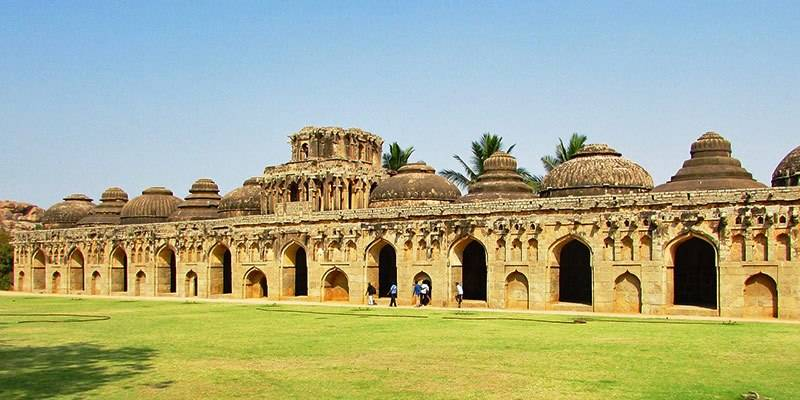 Ultimate Travel Guide to Hampi - Elephant Stables Hampi