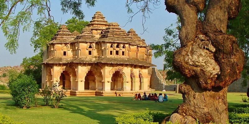 Ultimate Travel Guide to Hampi - Zenana Enclosure Lotus Mahal