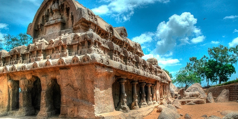 Places to Visit in India in December: Mahabalipuram