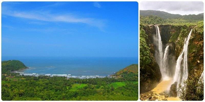 Road Trips in India - Jog Falls - Gokarna