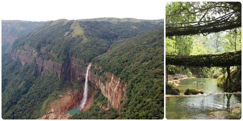 Road Trips in India - Cherrapunji