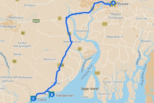 Road Trips to do from Kolkata - Digha