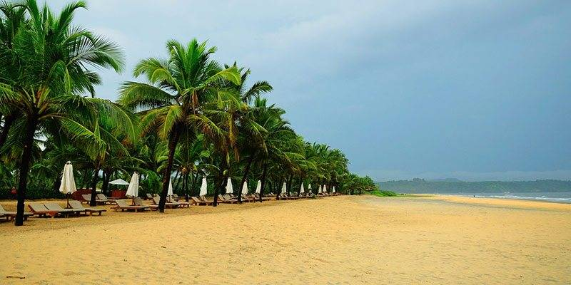 Little Known Beaches in Goa - Mobor Beach
