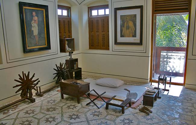 Mani Bhavan - Mahatma Gandhi's travels across India