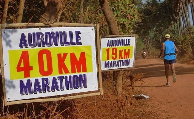 Marathons to travel for in India - Auroville Marathon