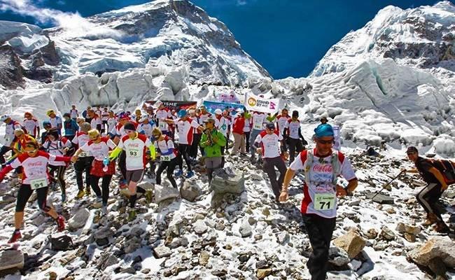 Marathons to travel for India - Everest Marathon