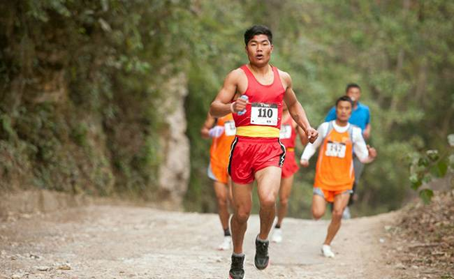 Marathins to travel for in India - mount abu marathon