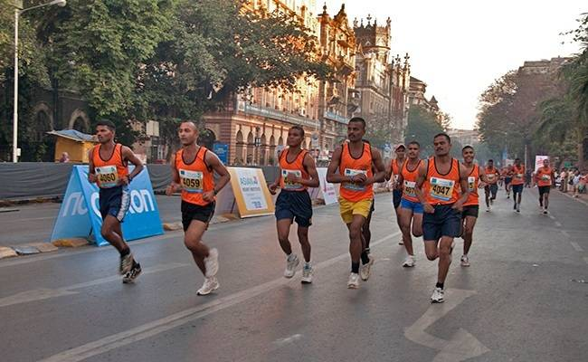 Marathons to travel for in India - Mumbai Marathon