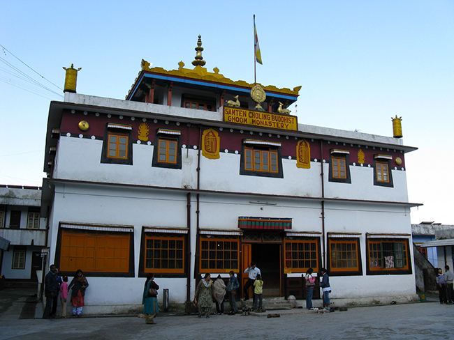 Buddhist Monasteries in India - Ghum Monastery