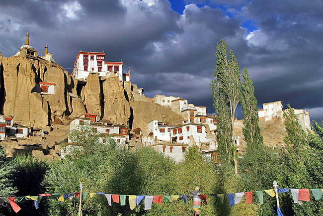 Buddhist Monasteries in India - Lamayuru Monastery