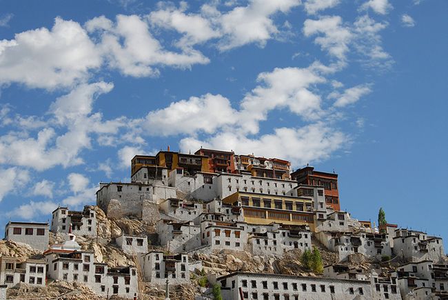 Thiksey monastery gompa
