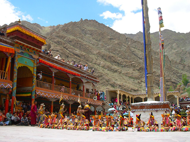 Buddhist Monasteries in India - Hemis Monastery
