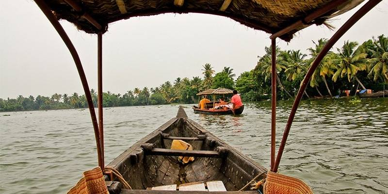 Monsoon destinations in India : Alleppey
