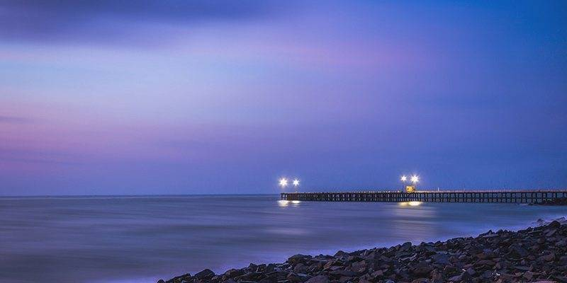 Monsoon destinations in India : Pondicherry