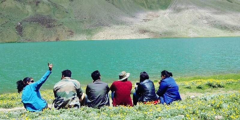 Monsoon Treks in Himachal Pradesh - Chandratal Lake Trek