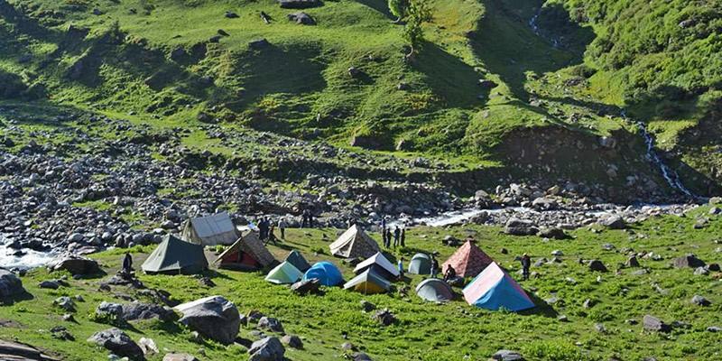 Monsoon Treks in Himachal Pradesh - Hampta Pass Trek