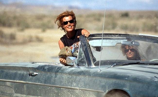 movies that inspire to travel - Thelma and Louise