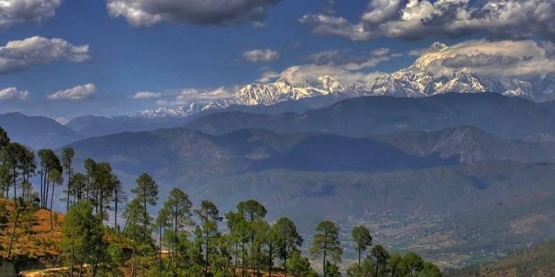 New year places from New Delhi -Kausani Uttarakhand